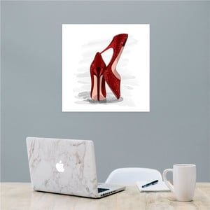 Nástěnný samolepicí obraz North Carolina Scandinavian Home Decors Stiletto, 30 x 30 cm