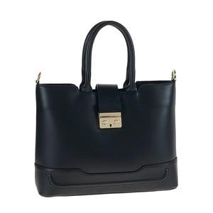 Černá kožená kabelka Tina Panicucci Lela