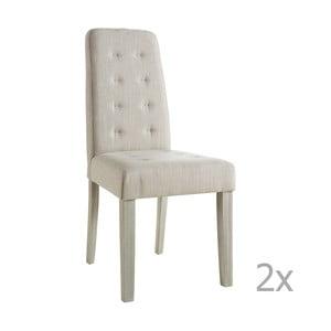 Set 2 scaune 13Casa Chic, bej