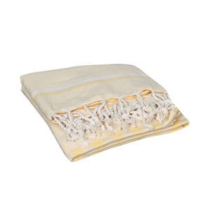 Prosop baie hammam  Hera Yellow, 90 x 190 cm, galben