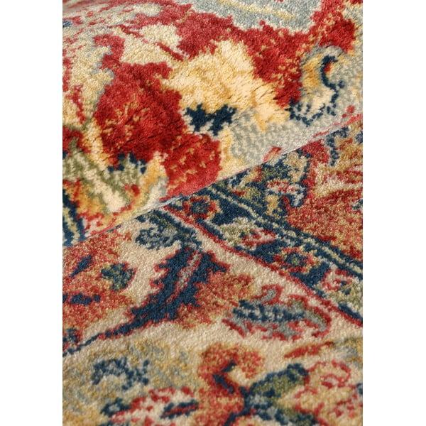 Vlněný koberec Ibai, 60x120 cm, lososový