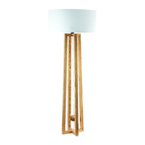 Stojací lampa Flea, světlá