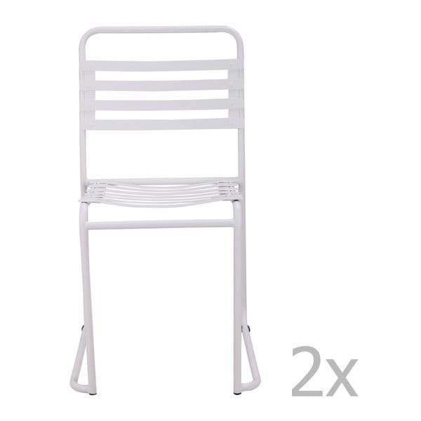 Set 2 scaune Red Cartel Park, alb