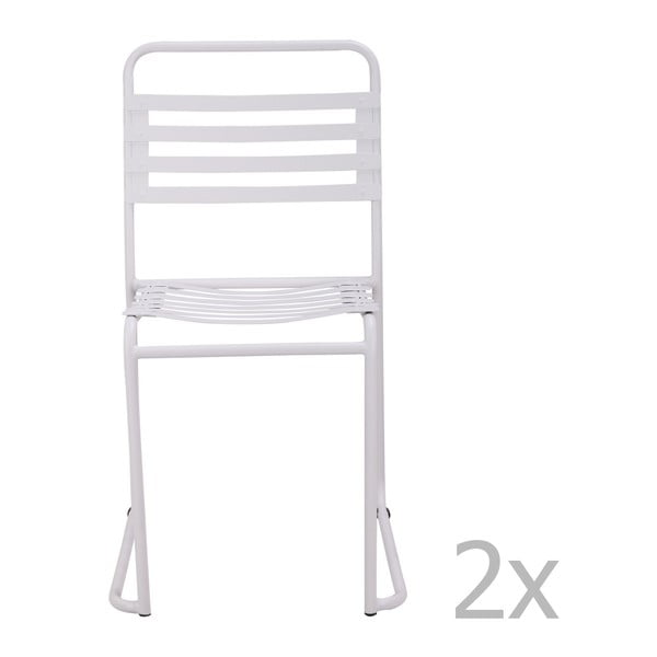 Sada 2 bílých židlí Red Cartel Park