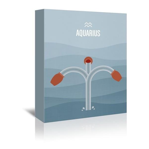 Obraz na plátně Aquarius od Christiana Jacksona