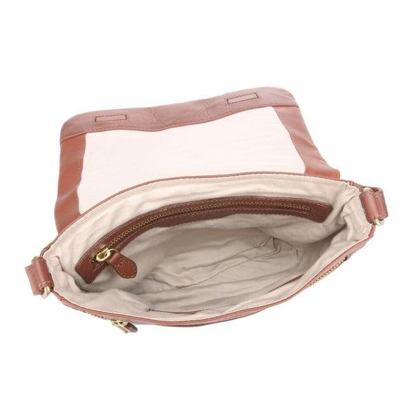 Kožená taška Nina Cognac