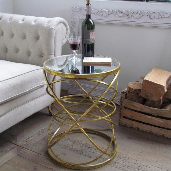Odkládací stolek Gold Antique