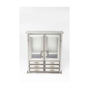 Komoda ve stříbrné barvě Kare Design Cabinet