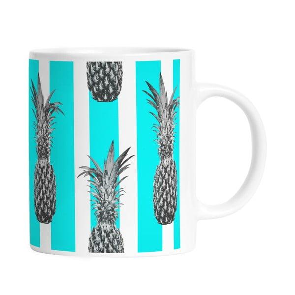Keramický hrnek Pineapples in Stripes, 330 ml