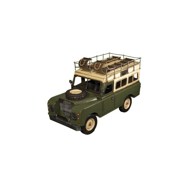 Retro model Zelený Jeep