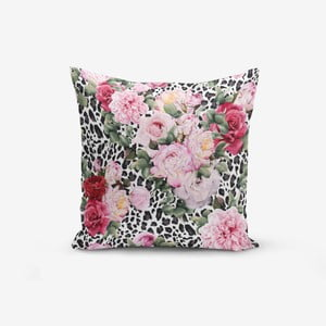 Povlak na polštář s příměsí bavlny Minimalist Cushion Covers Leopar Kavanice, 45 x 45 cm