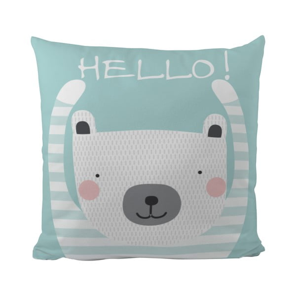 Polštář Hello Bear, 50x50 cm