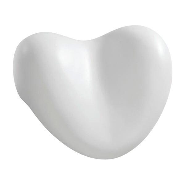 Biała poduszka do wanny Wenko Bath Pillow, 25x11 cm