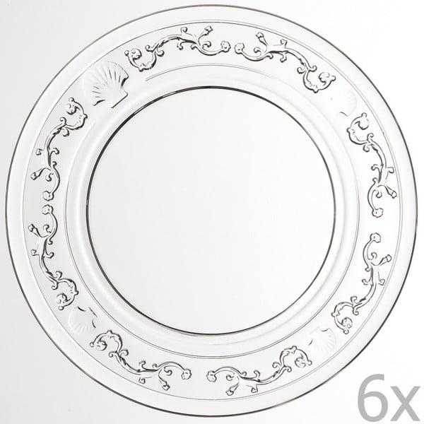 Sada 6 dezertních talířů Versailles, 15 cm