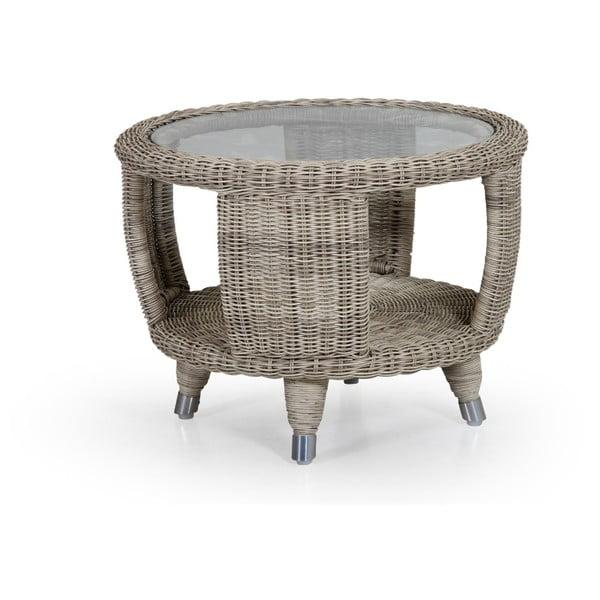 Béžový zahradní stolek Brafab Silva, ∅6cm