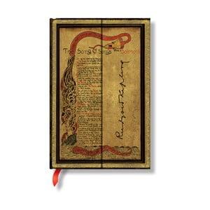 Zápisník s tvrdou vazbou Paperblanks Kipling, 10x14cm
