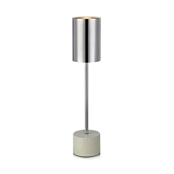 Stolní lampa ve stříbrné barvě Markslöjd Astoria