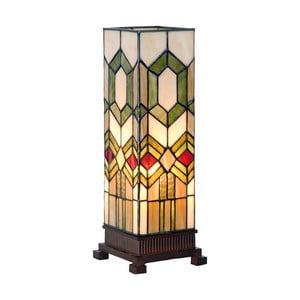Tiffany stolní lampa Strict