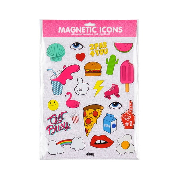 Magnety Icons Pink