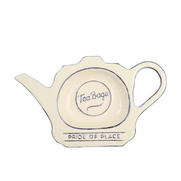 Pride Of Place krémszínű kerámia teatartó - T&G Woodware