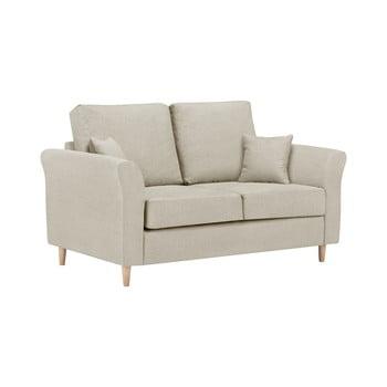 Canapea cu 2 locuri Kooko Home Smooth bej