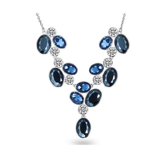 Náhrdelník se Swarovski Elements Blau Deep