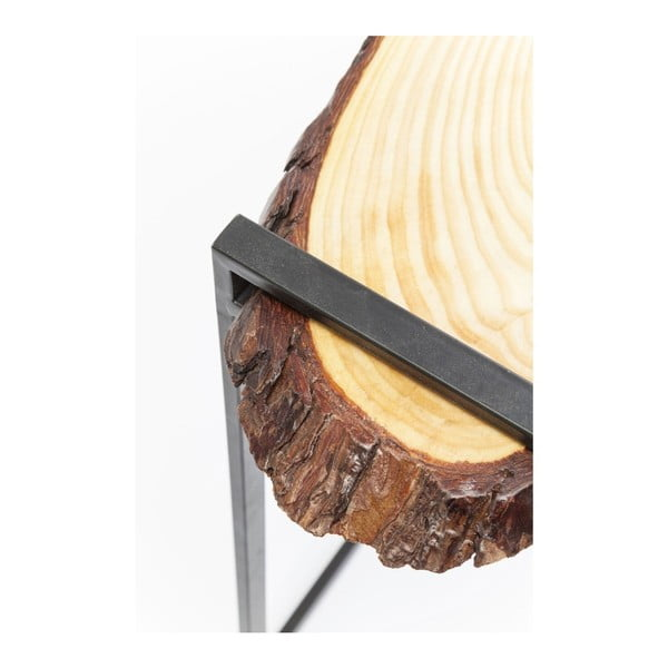 Măsuță din lemn de stejar Kare Design Merende