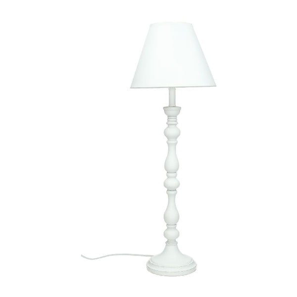 Stolní lampa Wood White, 56,5 cm