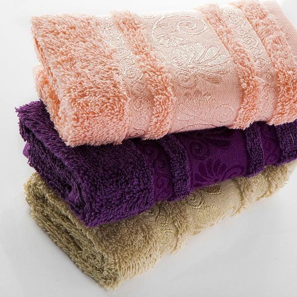 Sada 3 ručníků Carmen V2, 30x50 cm