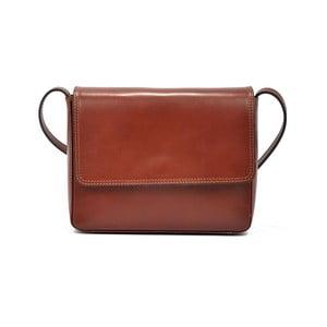 Červená kožená kabelka Renata Corsi Brita
