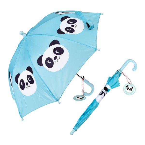 Umbrelă Rex London Miko the Panda, albastru