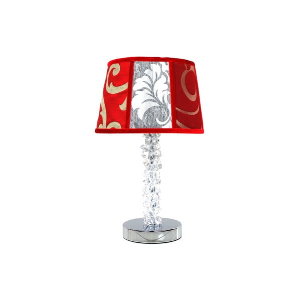 Stolní lampa Crystal Coral Red