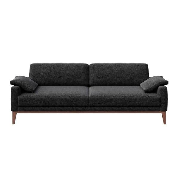 Canapea cu 3 locuri MESONICA Musso, gri antracit