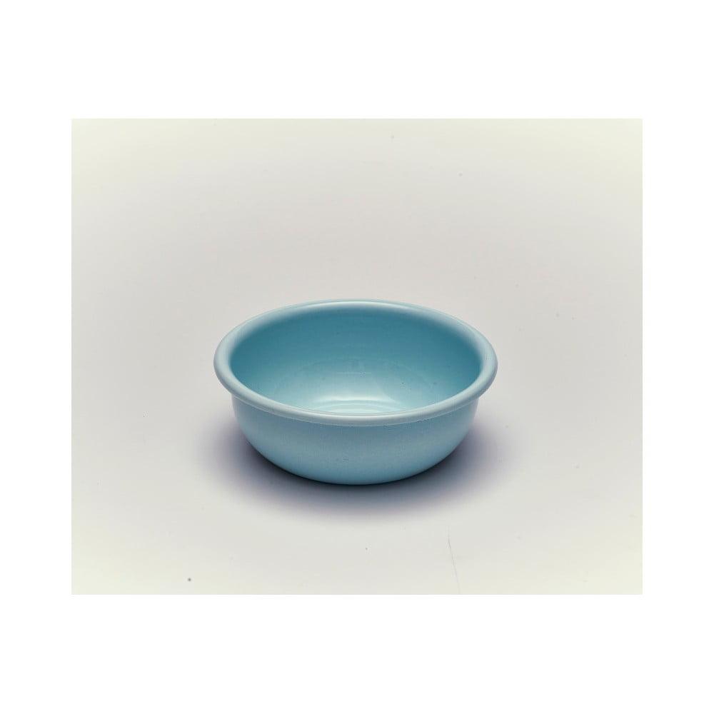 Modrá smaltovaná miska Kapka Back To Basics, Ø11,6cm