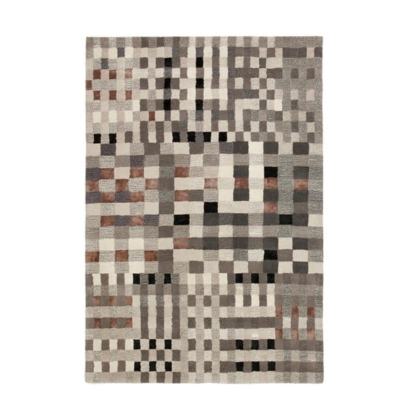 Vlněný koberec Jason Grey, 200x300 cm