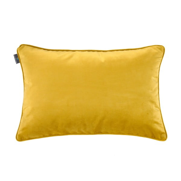 Față de pernă galbenă WeLoveBeds Dijon, 40 x 60 cm