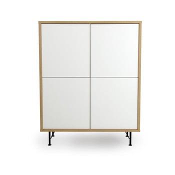Dulap Tenzo Flow, 111 x 137 cm, alb de la Tenzo