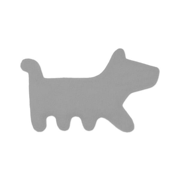 Nahřívací polštářek Pes Bruno, šedý