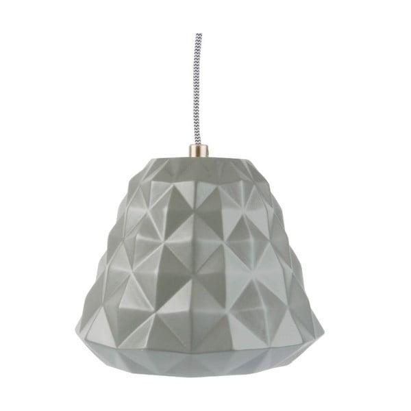 Keramický lustr Cast Mini, šedý
