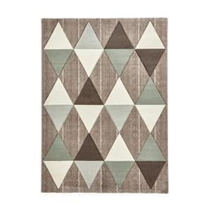Béžovozelený koberec Think Rugs Brooklyn, 120x170cm
