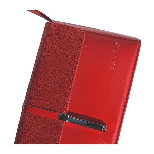 Kožená kabelka/psaníčko Boscollo Red 2502