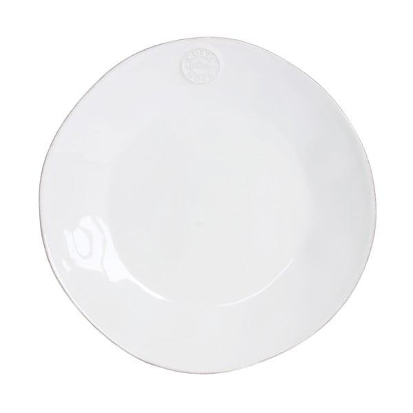 Biely kameninový tanier Ego Dekor Nova, ⌀ 27 cm