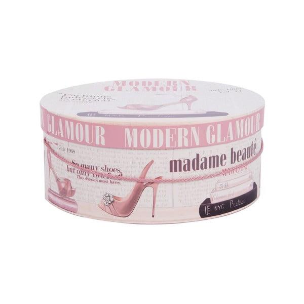 Sada 3 úložných krabic Madame Beauté