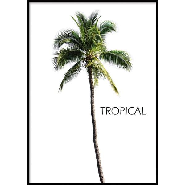 Nástěnný plakát v rámu BERMUDA/TROPICAL, 40x50cm
