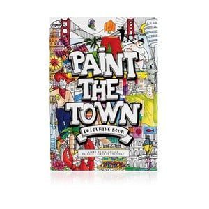 Carte de colorat NPW Paint The Town