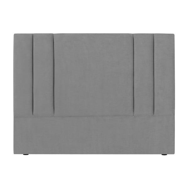 Szary zagłówek łóżka Kooko Home Kasso, 120x180 cm