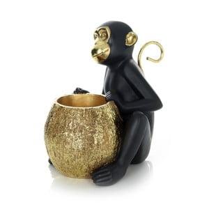 Černá dekorativní soška 360 Living Primate 222