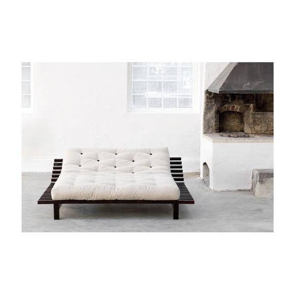 Rozkládací postel z borovicového dřeva Karup Design Blues, 160 x 200 cm