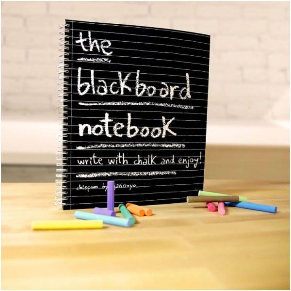 Tabulový zápisník Blackboard