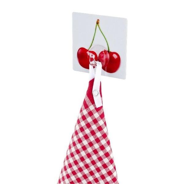 Samodržící věšák Wenko Static-Loc Cherry